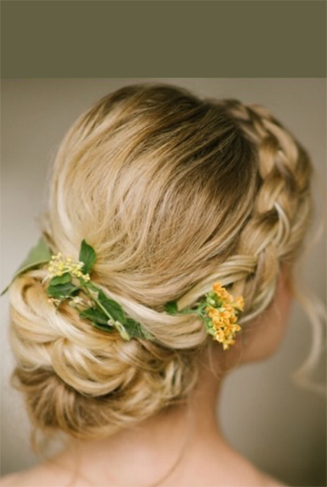 New Jersey Bridal Hair Photos